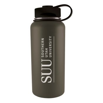 Southern Utah University -32 oz. Travel Tumbler-Gun Metal