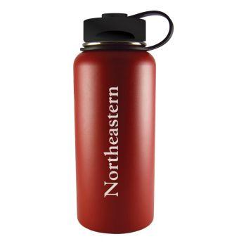 Northeastern University -32 oz. Travel Tumbler-Red