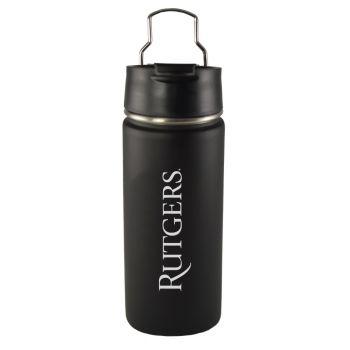 Rutgers University -20 oz. Travel Tumbler-Black