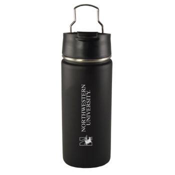 Northwestern University -20 oz. Travel Tumbler-Black