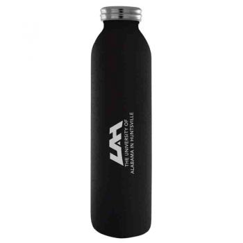 University of Alabama in Huntsville -Vaccum Insulated Water Bottle Tumbler-20 oz.-Black