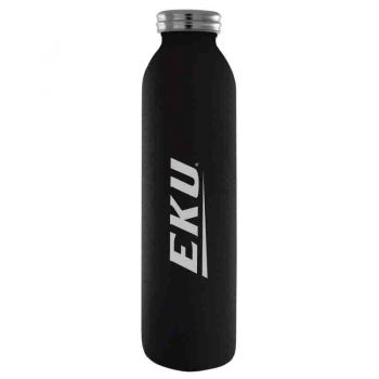 Eastern Kentucky University-Vaccum Insulated Water Bottle Tumbler-20 oz.-Black