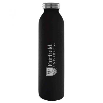 Fairfield University-Vaccum Insulated Water Bottle Tumbler-20 oz.-Black