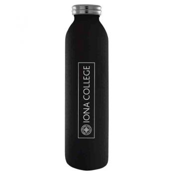 Iona College-Vaccum Insulated Water Bottle Tumbler-20 oz.-Black