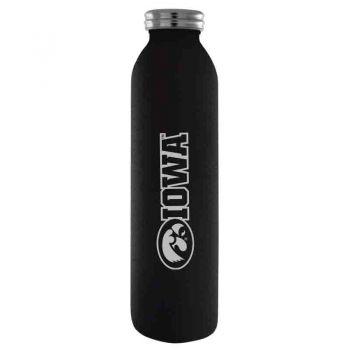 University of Iowa-Vaccum Insulated Water Bottle Tumbler-20 oz.-Black