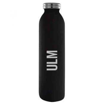University of Louisiana at Monroe-Vaccum Insulated Water Bottle Tumbler-20 oz.-Black