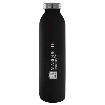 Marquette University-Vaccum Insulated Water Bottle Tumbler-20 oz.-Black
