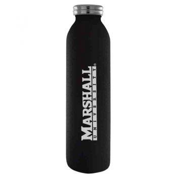 Marshall University -Vaccum Insulated Water Bottle Tumbler-20 oz.-Black