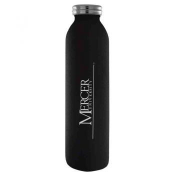 Mercer University-Vaccum Insulated Water Bottle Tumbler-20 oz.-Black