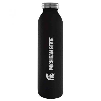 Michigan State University-Vaccum Insulated Water Bottle Tumbler-20 oz.-Black