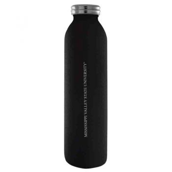 Mississippi Valley State University-Vaccum Insulated Water Bottle Tumbler-20 oz.-Black