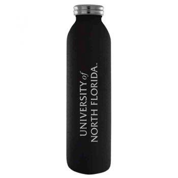 University of North Florida-Vaccum Insulated Water Bottle Tumbler-20 oz.-Black