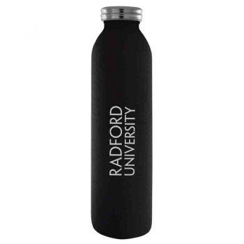 Radford University-Vaccum Insulated Water Bottle Tumbler-20 oz.-Black