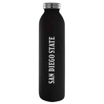 San Diego State University -Vaccum Insulated Water Bottle Tumbler-20 oz.-Black