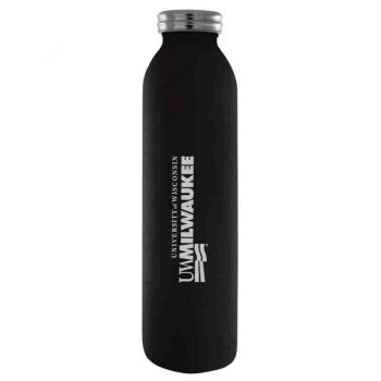 University of Wisconsin-Milwaukee-Vaccum Insulated Water Bottle Tumbler-20 oz.-Black