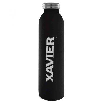 Xavier University-Vaccum Insulated Water Bottle Tumbler-20 oz.-Black