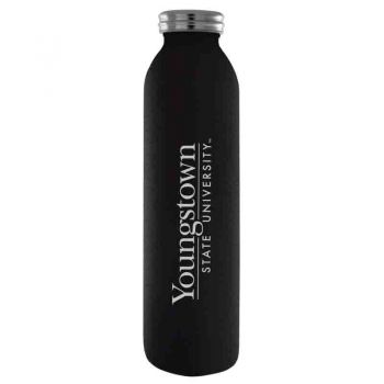 Youngstown State University-Vaccum Insulated Water Bottle Tumbler-20 oz.-Black
