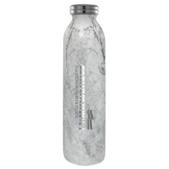 University of Wisconsin-Milwaukee-Vaccum Insulated Water Bottle Tumbler-20 oz.-Marble