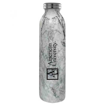 American University -Vaccum Insulated Water Bottle Tumbler-20 oz.-Marble