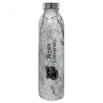 Bryant University -Vaccum Insulated Water Bottle Tumbler-20 oz.-Marble