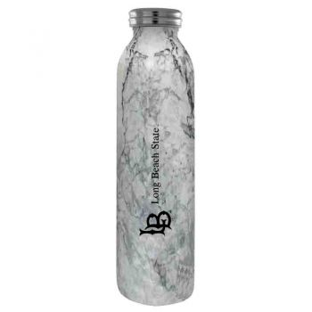 Long Beach State University -Vaccum Insulated Water Bottle Tumbler-20 oz.-Marble