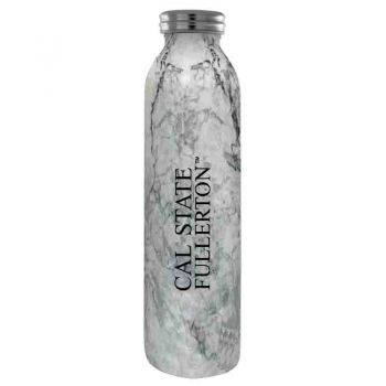 California State Univeristy Fullerton -Vaccum Insulated Water Bottle Tumbler-20 oz.-Marble
