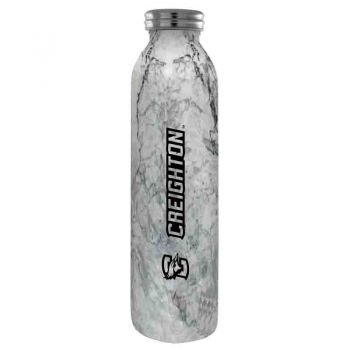 Creighton University -Vaccum Insulated Water Bottle Tumbler-20 oz.-Marble