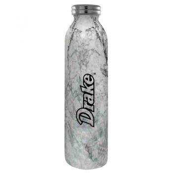 Drake University-Vaccum Insulated Water Bottle Tumbler-20 oz.-Marble