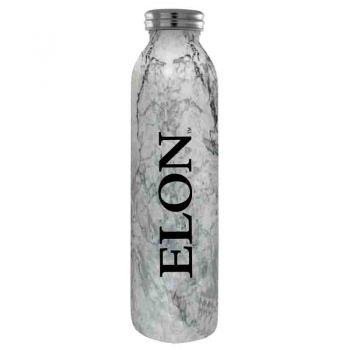 Elon University -Vaccum Insulated Water Bottle Tumbler-20 oz.-Marble