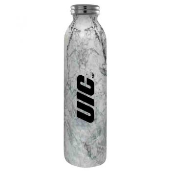 University of Illinois at Chicago-Vaccum Insulated Water Bottle Tumbler-20 oz.-Marble