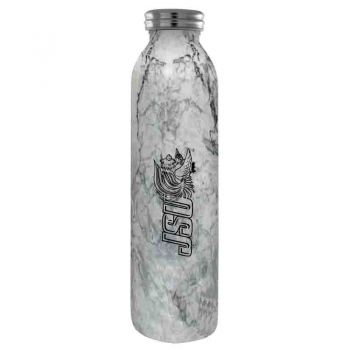 Jacksonville State University-Vaccum Insulated Water Bottle Tumbler-20 oz.-Marble