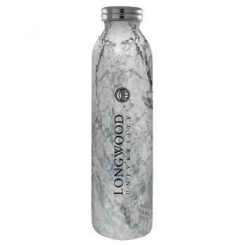 Longwood University-Vaccum Insulated Water Bottle Tumbler-20 oz.-Marble
