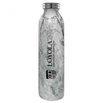 Loyola University Maryland-Vaccum Insulated Water Bottle Tumbler-20 oz.-Marble