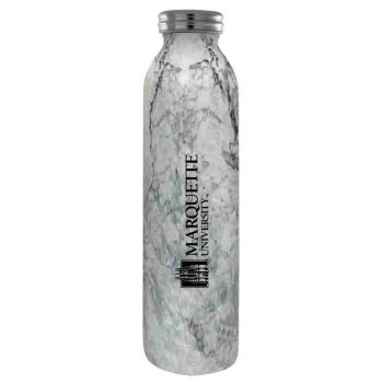 Marquette University-Vaccum Insulated Water Bottle Tumbler-20 oz.-Marble