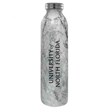 University of North Florida-Vaccum Insulated Water Bottle Tumbler-20 oz.-Marble