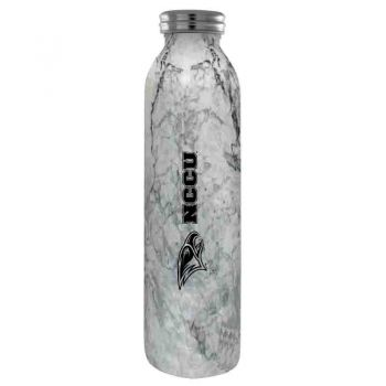 North Carolina Central University -Vaccum Insulated Water Bottle Tumbler-20 oz.-Marble