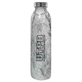 The University of Texas at The Permian Basin-Vaccum Insulated Water Bottle Tumbler-20 oz.-Marble