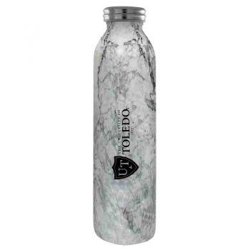 University of Toledo -Vaccum Insulated Water Bottle Tumbler-20 oz.-Marble