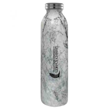 Texas A&M University-Corpus Christi-Vaccum Insulated Water Bottle Tumbler-20 oz.-Marble