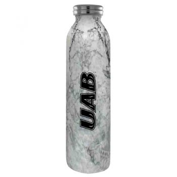 University of Alabama at Birmingham -Vaccum Insulated Water Bottle Tumbler-20 oz.-Marble