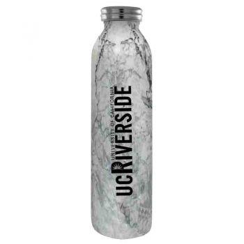 University of California, Riverside-Vaccum Insulated Water Bottle Tumbler-20 oz.-Marble