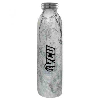 Virginia Commonwealth University-Vaccum Insulated Water Bottle Tumbler-20 oz.-Marble