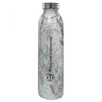 Wesleyan University -Vaccum Insulated Water Bottle Tumbler-20 oz.-Marble