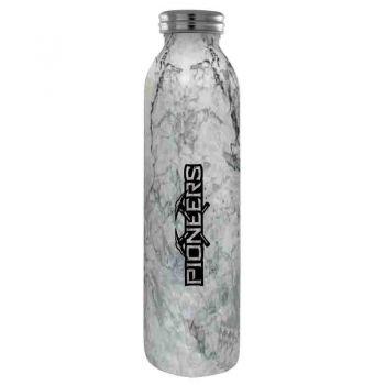 University of Wisconsin-Platteville-Vaccum Insulated Water Bottle Tumbler-20 oz.-Marble